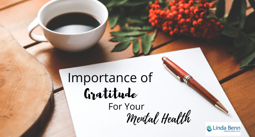 Importance of gratitude for your mental health
